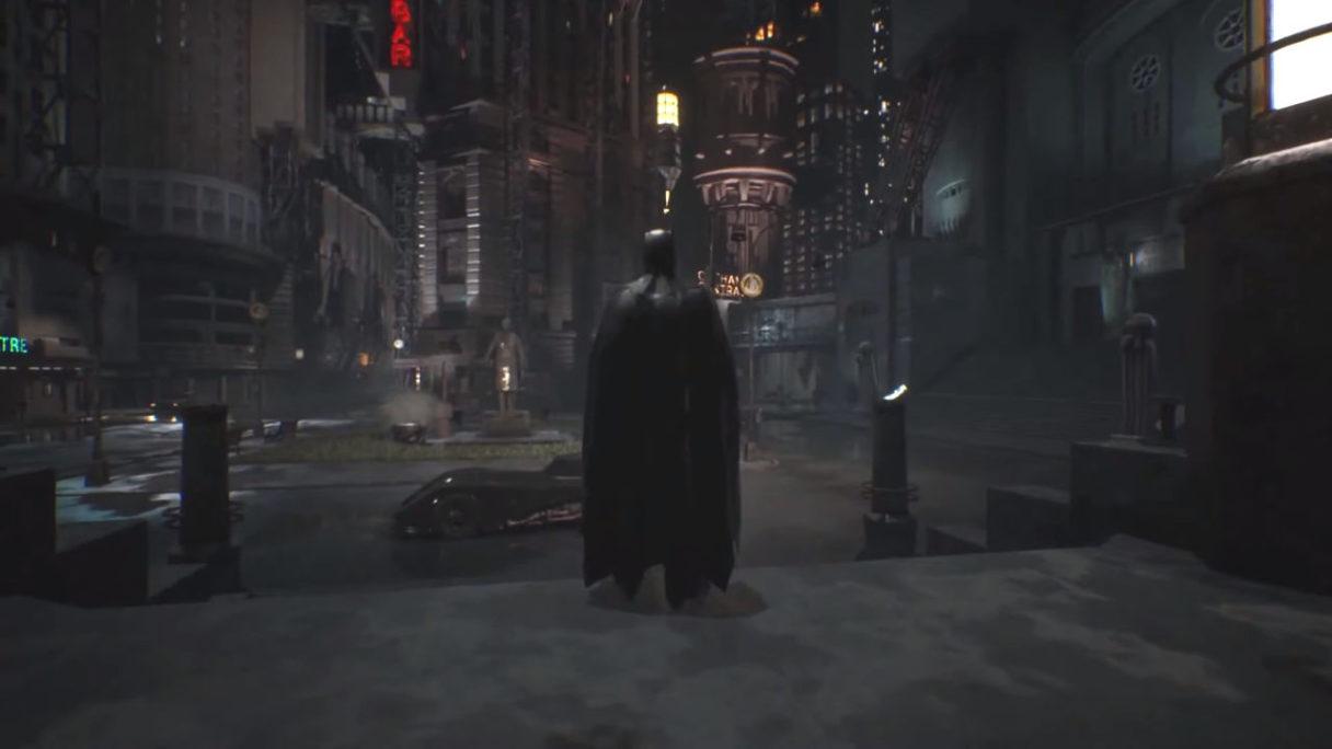 Batman z fanowskiego projektu na Unreal Engine