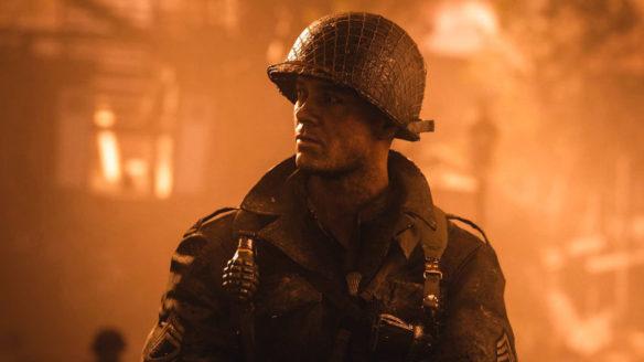 Call of Duty 2021 WW2 - żołnierz