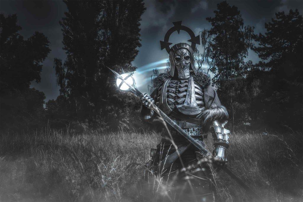 Cosplay z Wiedźmin - Caranthir z Dzikiego Gonu