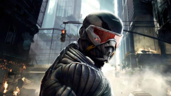 Crysis 2 - postać z gry na pierwszym planie