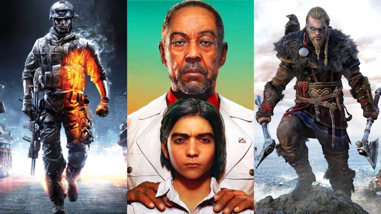 DoGRYwka - bohaterowie z Battlefield, Far Cry 6 i Assassin's Creed Valhalla