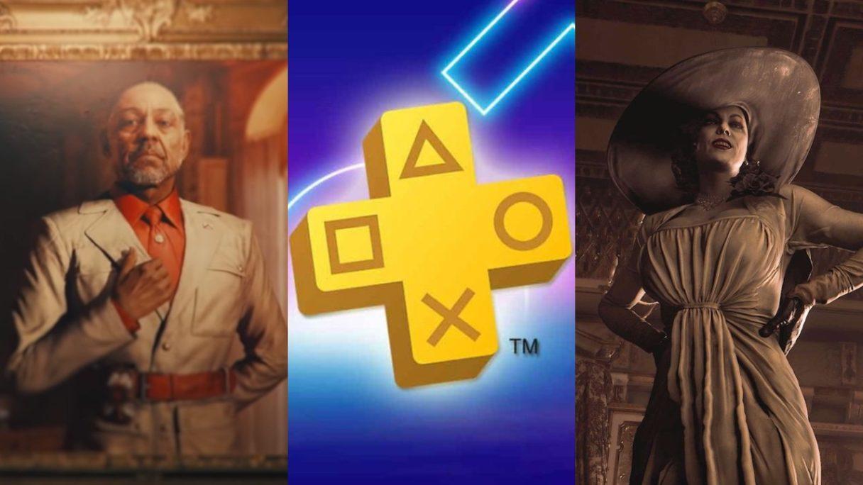DoGRYwka - czarny charakter z Far Cry 6, logo PS Plus czerwiec 2021 i Lady Dimitrescu z RE Village