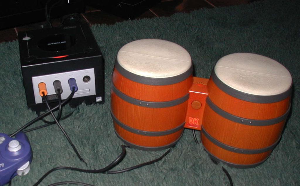 DK Bongos dla Game Cube
