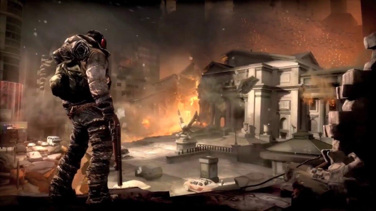 Doom 4 grafika koncepcyjna z gry