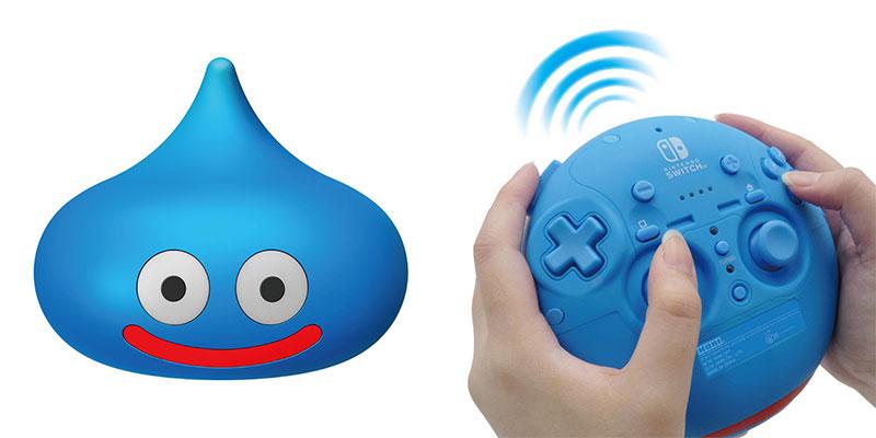 Kontrolery do gier - Hori Dragon Quest Slime Controller dla Nintendo Switch/PS4