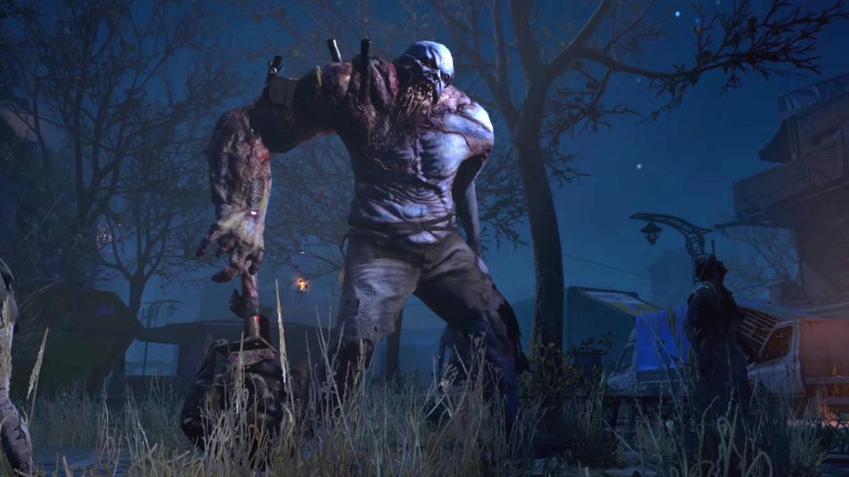 Dying Light 2 kolosalny zombie mutant