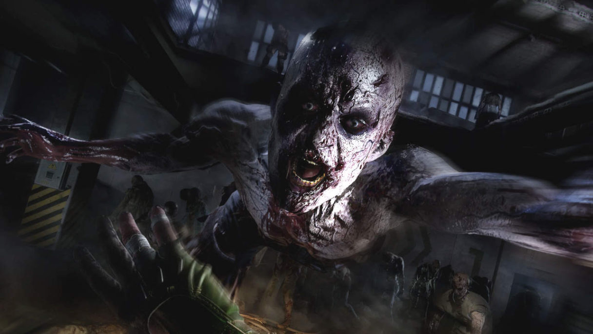Dying Light 2 Stay Human - zombie atakuje gracza