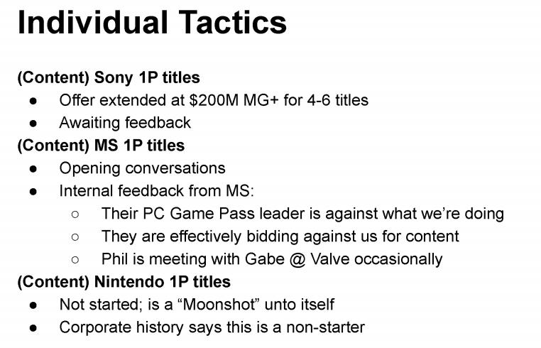 PlayStation i Epic Games - dokument z rozprawy