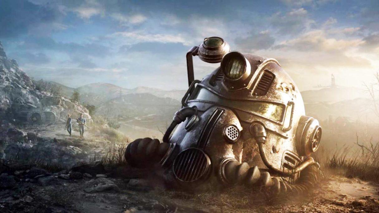 Bethesda Fallout - hełm z power armora