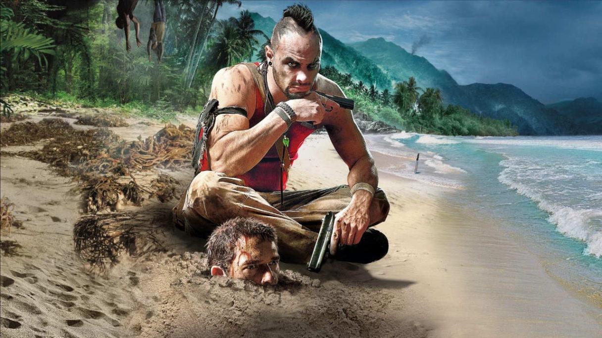 Far Cry 3 - Vaas (z easter egga w Far Cry 6) i zakopany w ziemi główny bohater