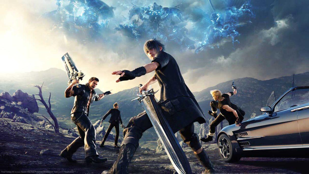 Final Fantasy XV - bohaterowie