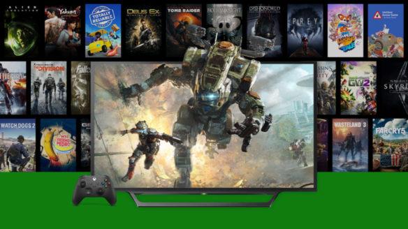 Grafiki z gier wspierających FPS Boost w grach między innymi na Xbox Game Pass