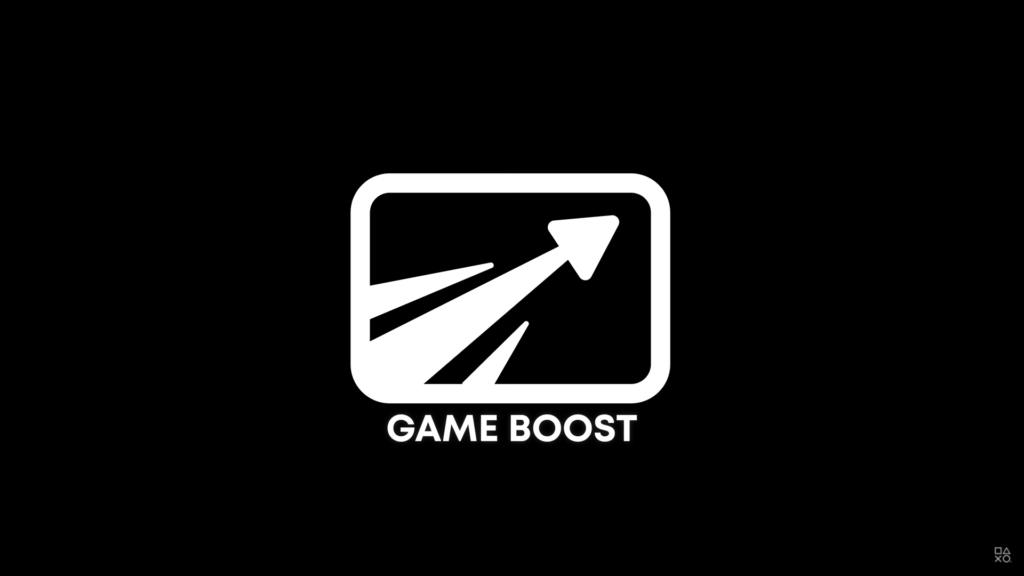 PS5 Game Boost - logo