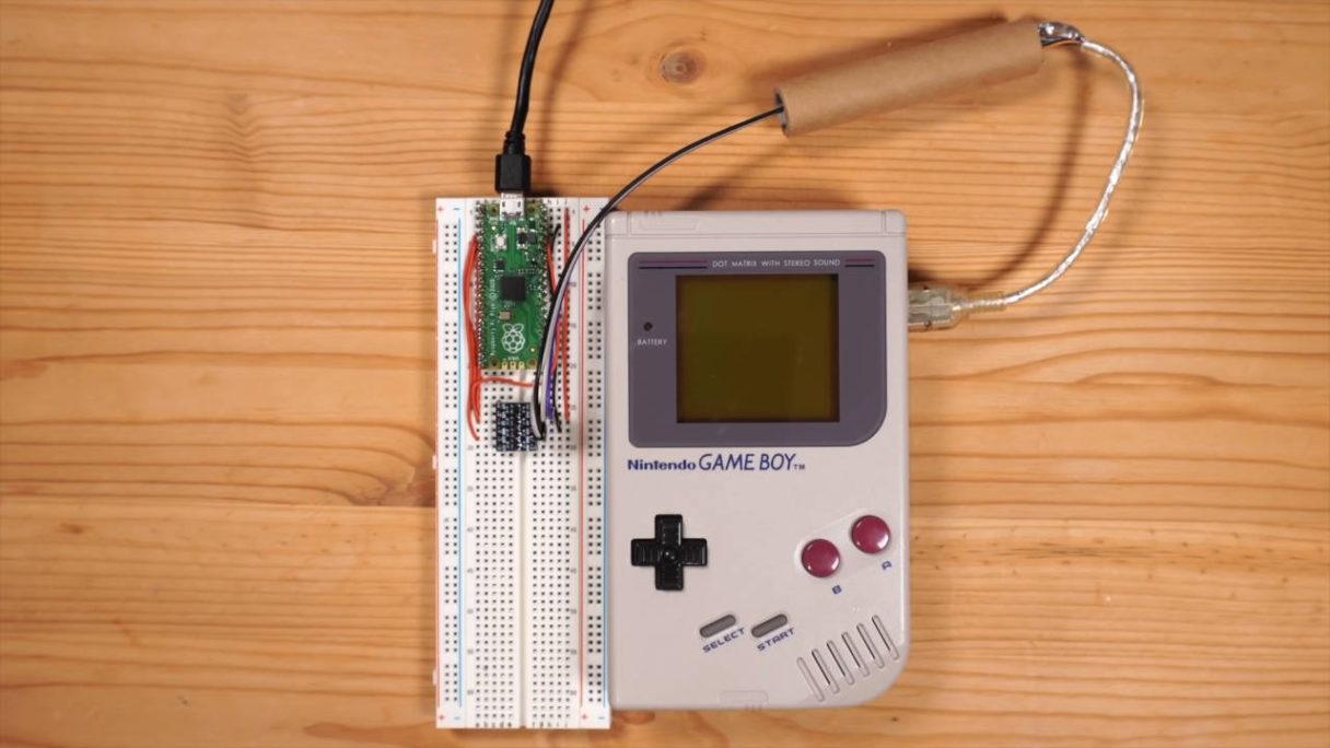 Game Boy Advance i Tetris przerobione przez fana