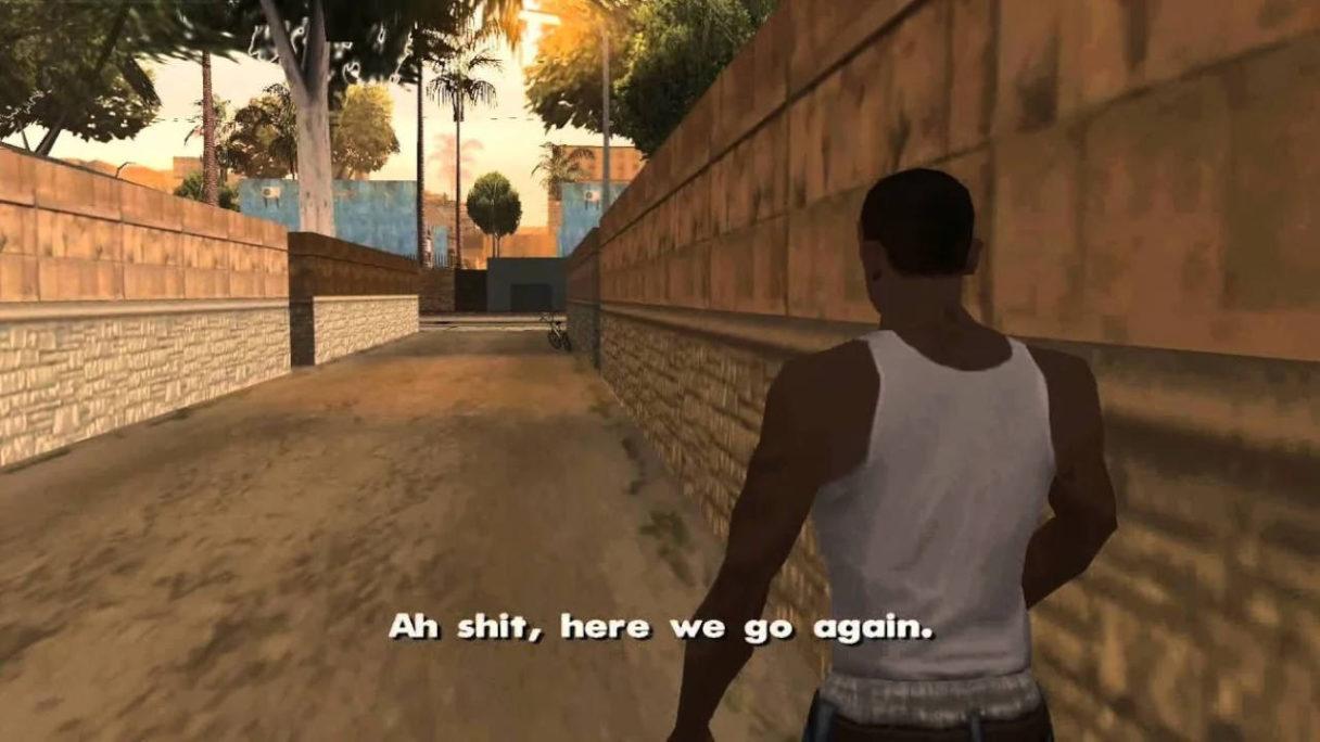 GTA San Andreas meme