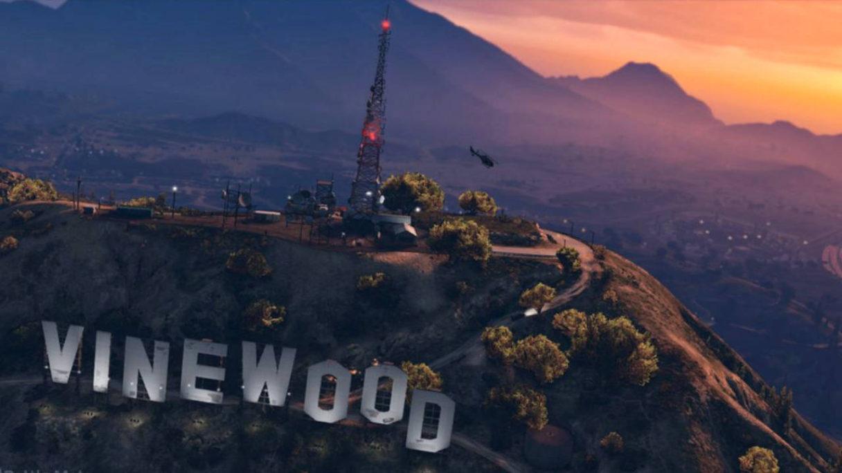 GTA V dostepne rowniez na PlayStation 5 - mapa Los Santos