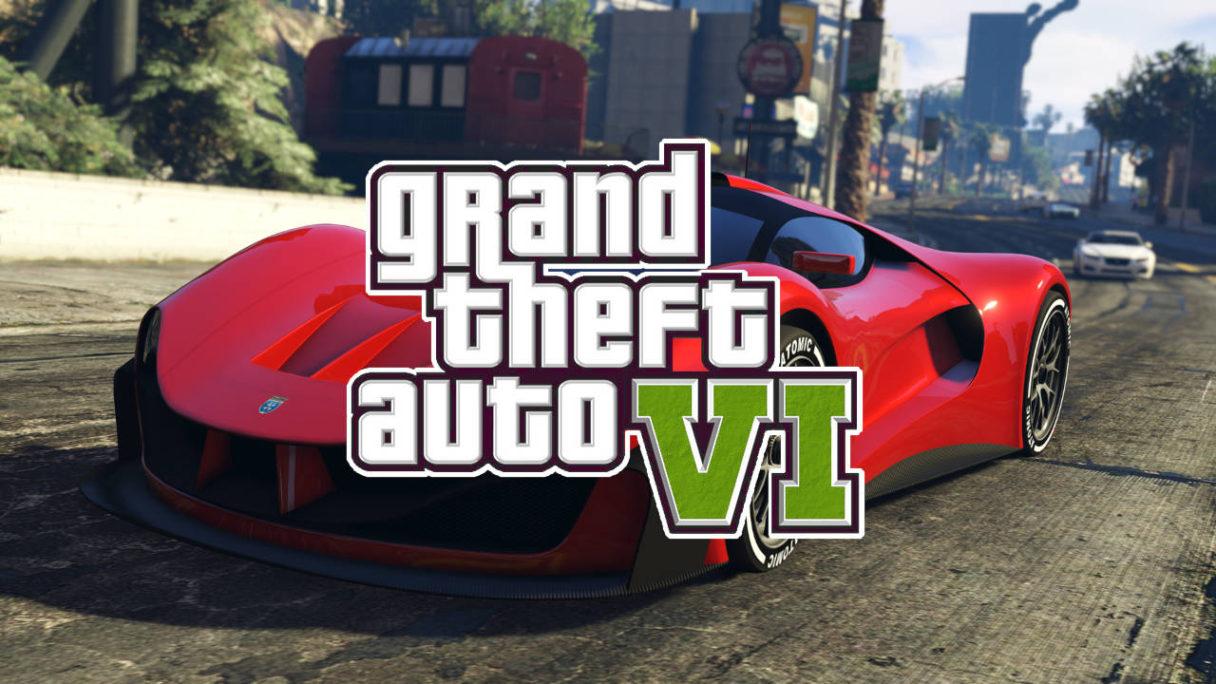 GTA VI - czerwony samochód sportowy