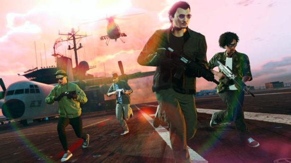 GTA 5 Online - zrzut ekranu