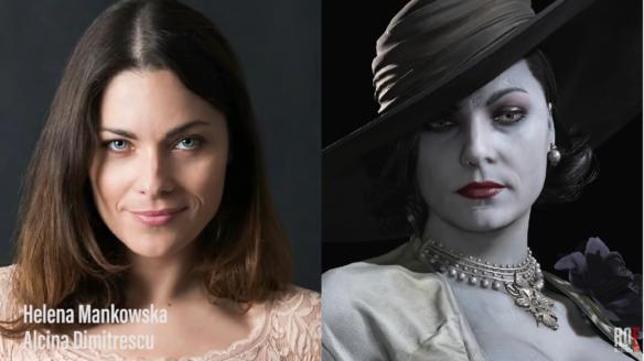 Helena Mańkowska jako Lady Dimitrescu
