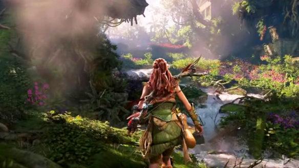 Horizon Forbidden West - Aloy w dżungli