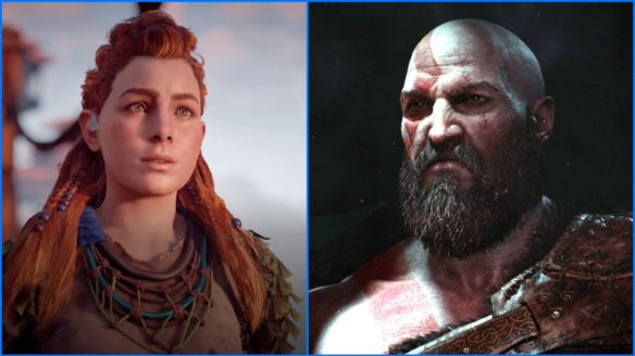 PlayStation - Kratos i Aloy