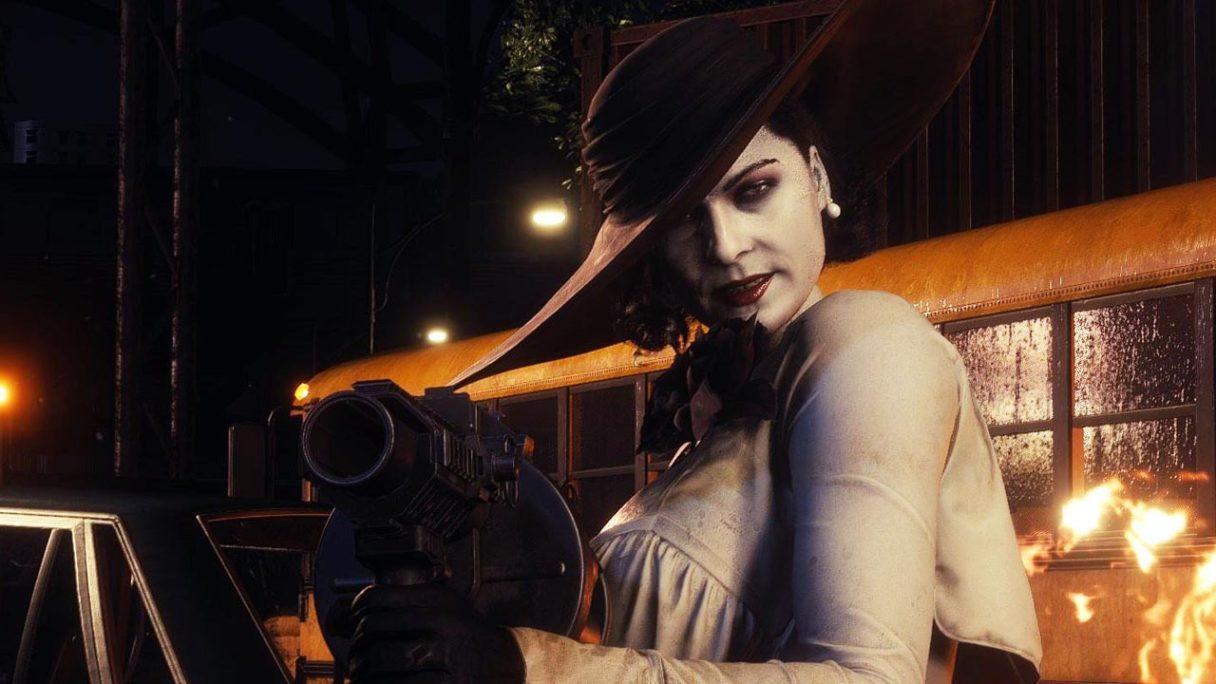 Lady Dimitrescu z Resident Evil Village w RE3 - mod