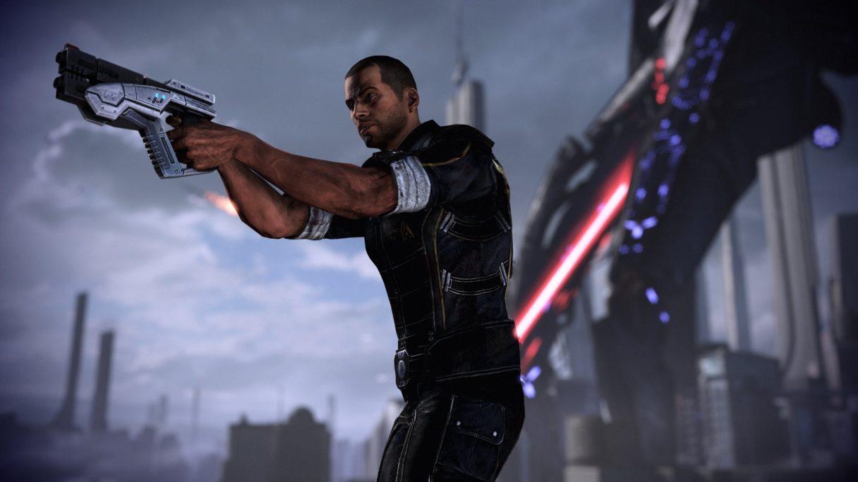 Mass Effect Legendary Edition porównanie grafiki