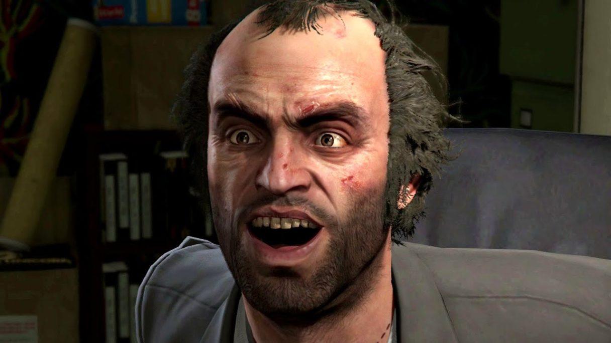 GTA VI - GTA Online - zdziwiony Trevor