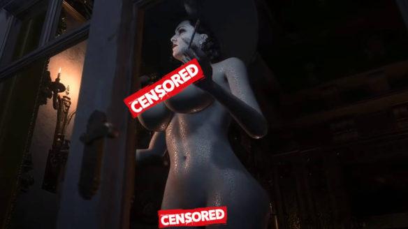 naga Lady Dimitrescu z Resident Evil Village