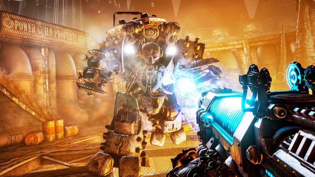 Necromunda: Hired Gun - zrzut ekranu