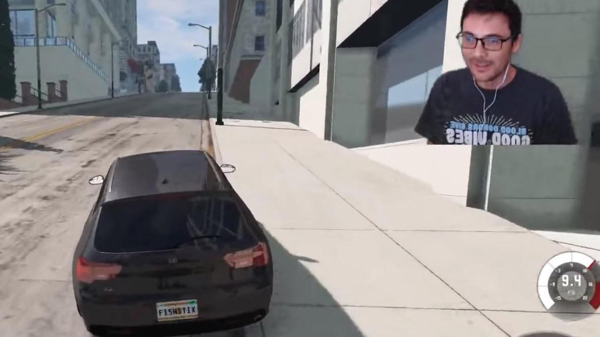 BeamNG.drive gracz stworzył system oszukujący błędnik