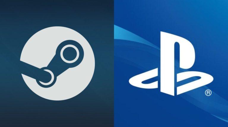PlayStation i Steam - logo