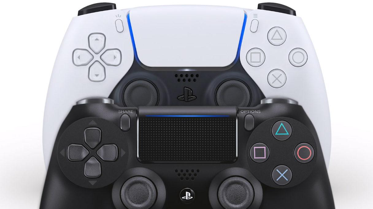 Nowe gry PS4 PS5 - kontrolery