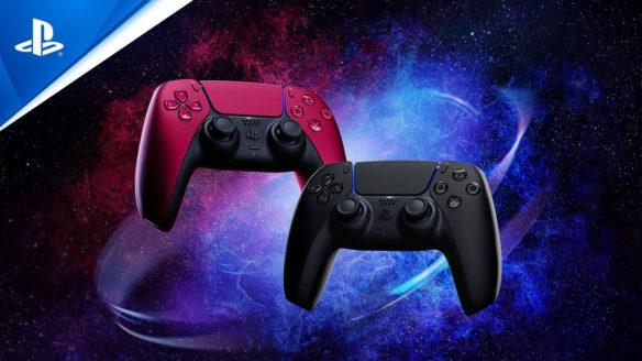 PS5 - nowe kolory padów DualSense - czarny i czerwony