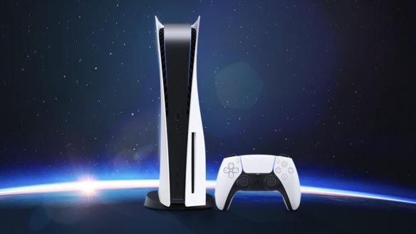 PS5 w kosmosie