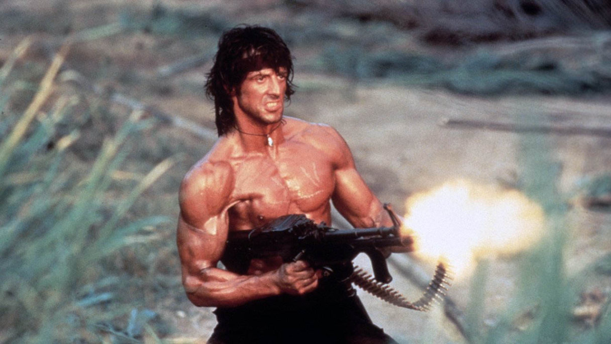 Rambo w Call of Duty Warzone