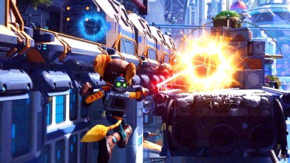 Ratchet & Clank: Rift Apart - zrzut ekranu z pokazu