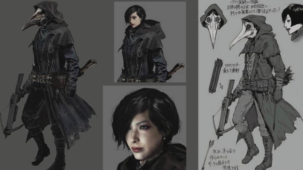 Resident Evil VIllage - skasowana Ada Wong