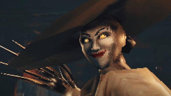 resident evil village demake - lady dimitrescu