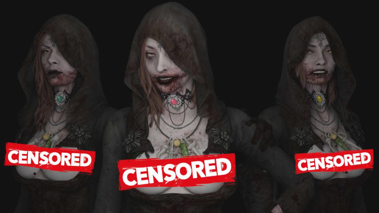 Ocenzurowane mutanty z Resident Evil Village