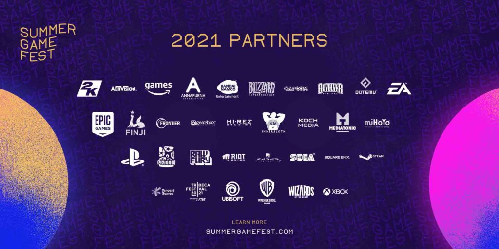 Summer Game Fest 2021 - firmy