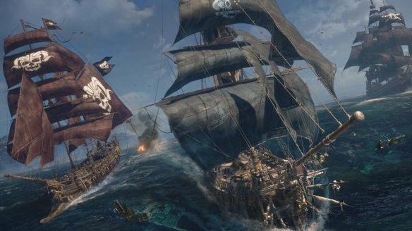 skull & bones statki z gry
