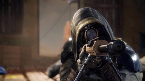 Sniper Ghost Warrior Contracts 2 - snajper celujący przez lunetę karabinu
