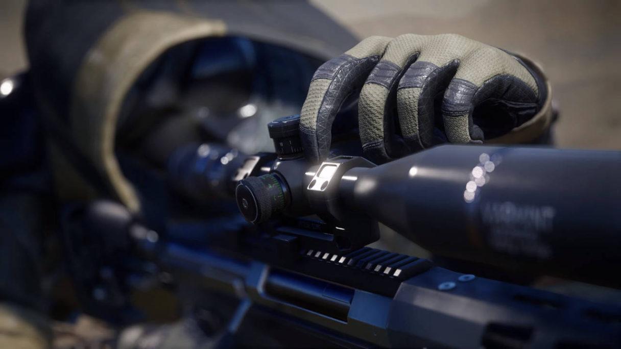 Sniper Ghost Warrior Contracts 2 - Snajper dostraja lunetę karabinu