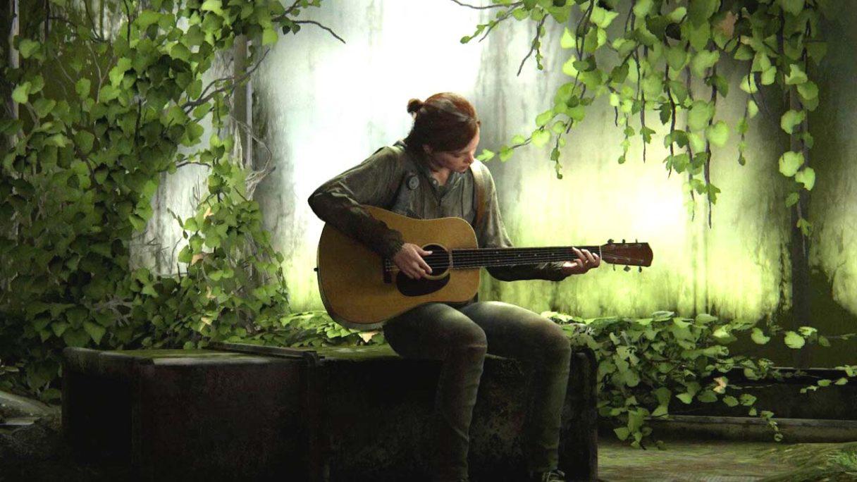 The Last of Us 2 - Ellie gra na gitarze