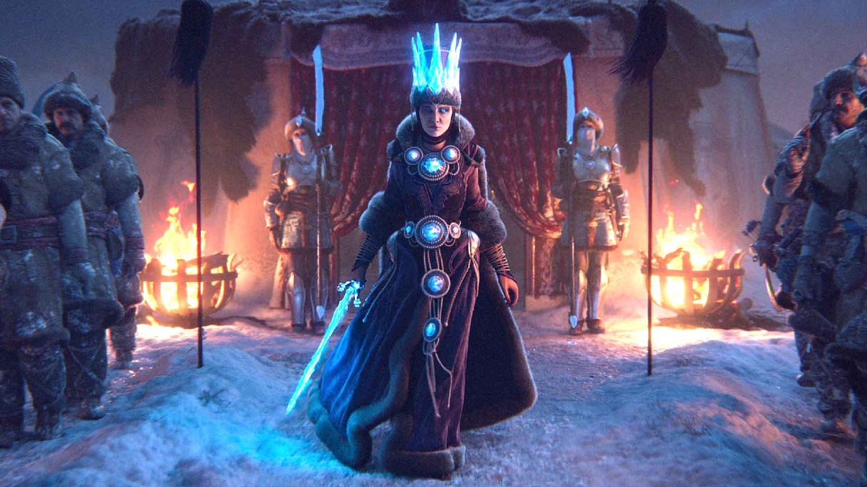 Total War Warhammer III - czarodziejka
