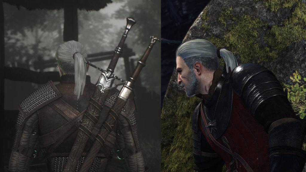 Wiedźmin 3 - Geralt w kucyku