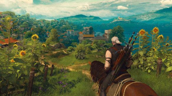 Wiedzmin 3 ladny widok z gry