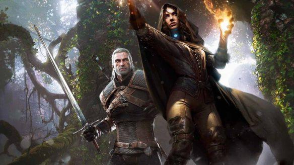 Wiedźmin 3 - Geralt i Yennefer