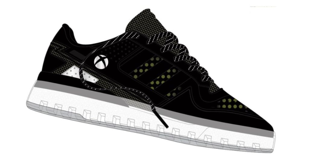 render butów xbox x adidas